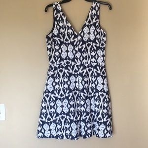 Navy Gap Dress with Pockets